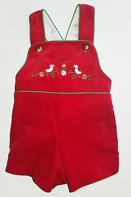 Vintage Toddle Tyke Baby Boy Romper Size 6 Months