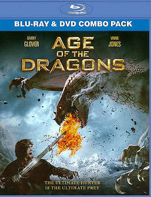 Age of the Dragons (Blu-ray/DVD, 2012, 2-Disc Set) NEW SEALED
