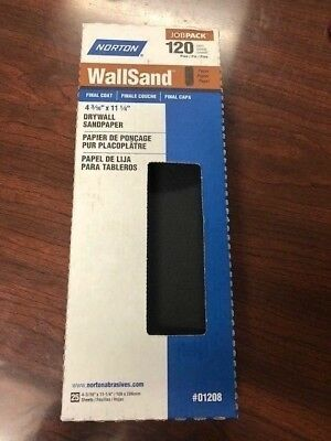 "Norton 07660701208 WallSand Die Cut Drywall Sanding Screen, 11"" Length x 4-3/16"""
