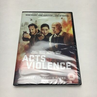 Acts of Violence DVD - New & Sealed