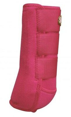 Showman SMALL PINK Pair of Elite Equine Sport Medicine Boots! NEW HORSE TACK!!