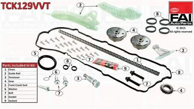 FAI Timing Chain Kit TCK129VVT  - BRAND NEW - GENUINE - 5 YEAR WARRANTY