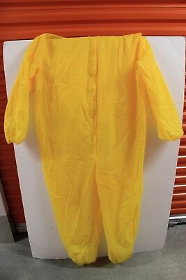 AMC Breaking Bad Hazmat Costume Suit Chemical Dress Up One Size Fits Most
