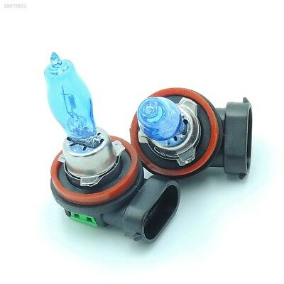 2x H11 Car Auto HOD Xenon H9 H8 12V 100W Fog Bulbs Headlamp 6000K White E95C787