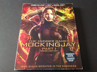 The Hunger Games Mockingjay Part 1  ( Blu Ray + Dvd )
