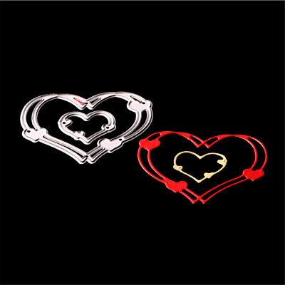 Love Heart Metal Cutting Dies Stencils for DIY Cards Scrapbooking Decor HF