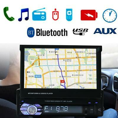 "7"" 1 DIN Touch Screen BT In-Dash Car GPS MP5 MP3 Player FM Radio USB/TF/AUX"