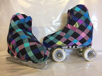 Diamonds Boot Covers for RollerSkates and Ice Skates  S,M,L