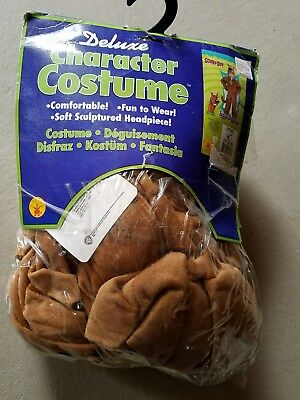 O NEW Child Rubies Deluxe Scooby Doo Dog Halloween Costume Size M