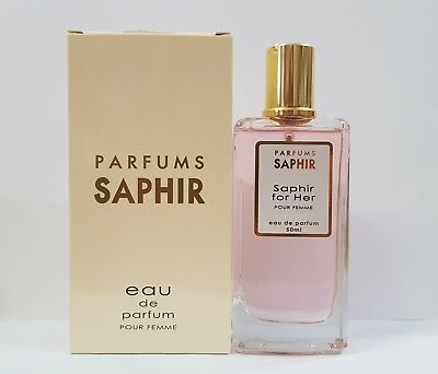 Saphir Parfums Edp Donna 50 Ml Saphir For Her, (Narciso Rodriguez)
