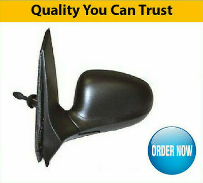 Ford Ka Door Wing Mirror Manual Black Passenger Side Collection Only