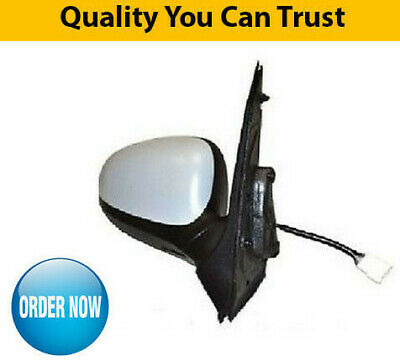 Ford Ka Door Wing Mirror Heated Electric Primed Driver Side New