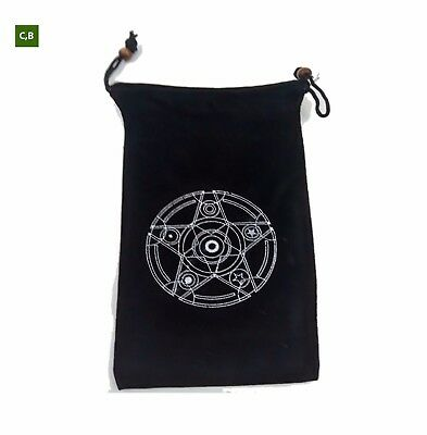 Pouch Case Bag Box Storage for Rider Tarot Deck Board Game Playing Card Waite
