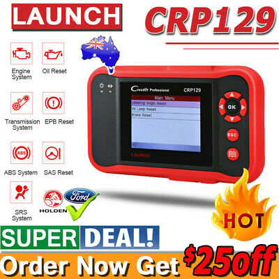 LAUNCH X431 CRP129 OBD2 OBDII EOBO Scan Tool Auto Code Reader Diagnostic Scanner