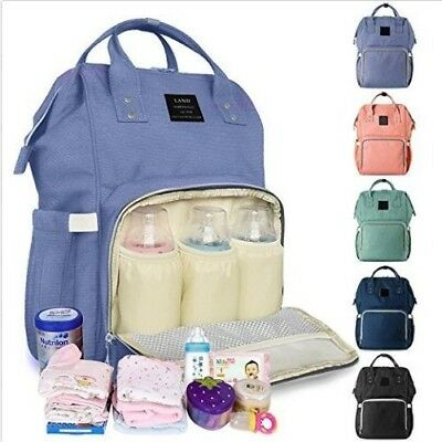 Mummy Maternity Nappy Diaper Bag Large Capacity Baby Bag Travel Backpack US