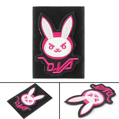 Embroidered Game DVA Bunny Rabbit Tactical Morale Hook Loop Patch USA