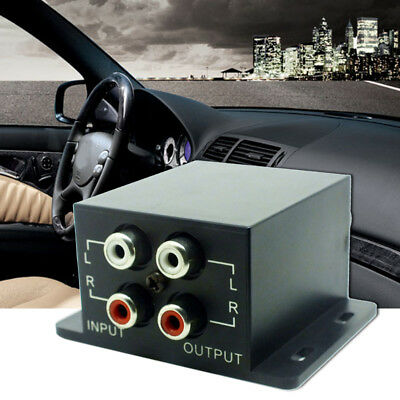 Car Home Amplifier Bass RCA Volume Knob Controller Subwoofer Crossover Regulator