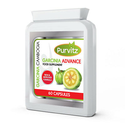 Garcinia Cambogia Advance Pure Clean Detox Max Capsules Weight Loss Diet HCA