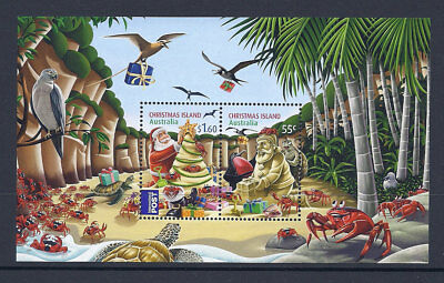 2012 Christmas Island Stamps - Christmas Mini Sheet MUH