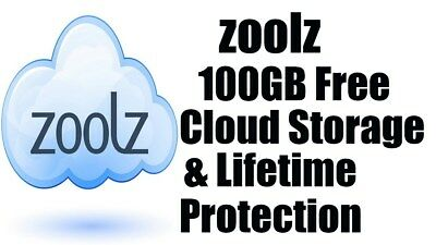 Zoolz 100GB Cloud Storage LIFETIME (LIMITED OFFER)