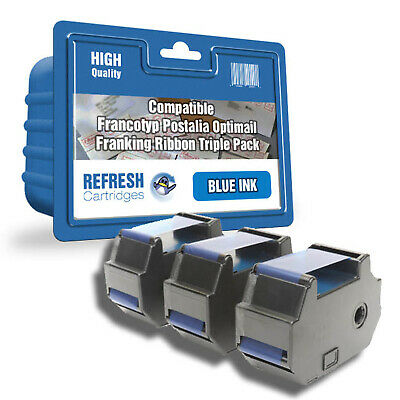 Refresh Cartridges Blue 58.0034.3071.00  Compatible With Francotyp Postalia Prin