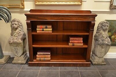 Beautiful 19th Century Mahogany Dwarf Bookcase