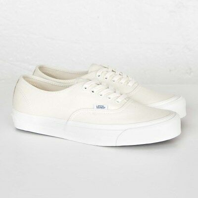 VANS OG AUTHENTIC LX Classic White VUDDIAV Men Sizes NEW 100