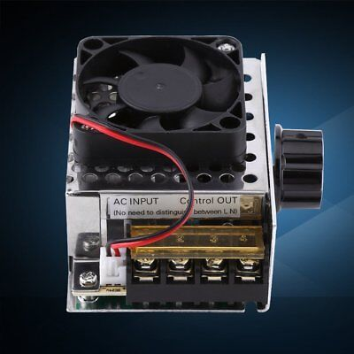 4000W 0-220V AC Motor Speed Controller Module Electric Voltage Regulator X1R