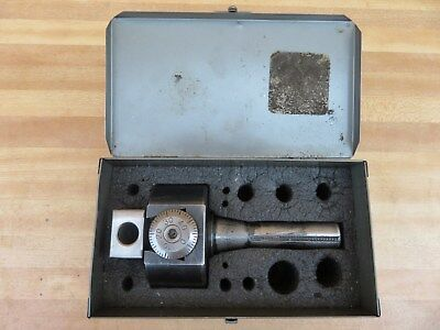 Original Bridgeport R8 Collet Boring Head No. 2 with Case