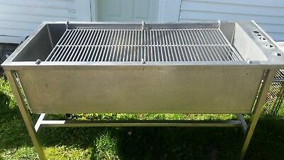 Lrg Stainless Steel Utility Wash Sink w/ Rack 2x5 Grooming Mechanic Commercial