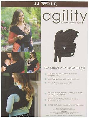 JJ Cole Agility Stretch Carrier, Black, Large New - FREE SHIPPING