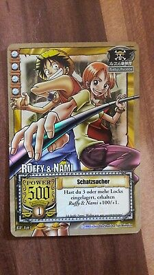 One Piece karte Ruffy & Nami Teamkarte