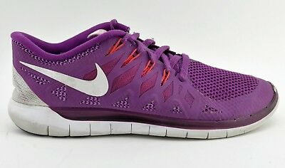new product 90c88 8435c WOMENS NIKE FREE 5.0 Purple Pink Size 9.5 Eu 41 Uk 7 642199 501 Running  Shoes