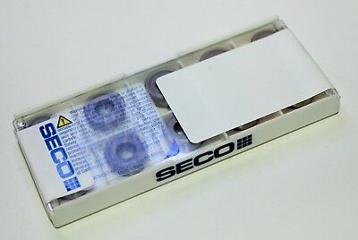 Lot of 10 SECO RCMM64-46 883 Carbide Turning Inserts