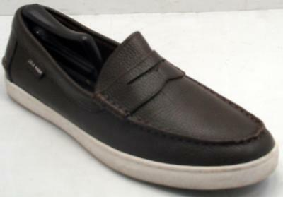 68e7265c57c Cole Haan Pinch Grand OS Weekender Penny Loafers Mens Brown Leather 10.5 M  Shoes