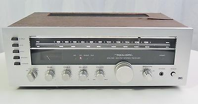 Realistic Sta-100 Stereo Receiver Sta100 Sta 100 Vintage