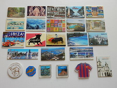 One Selected Souvenir Fridge Magnet from Spain