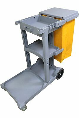 Janitorial Cleaning Cart Rolling Janitor Ultility Cart with Cover [051309-BAI]