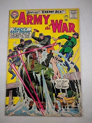 Our Army at War #153 (1965, DC) [VG/FN] 2nd App. Enemy Ace! CLASSIC WCAR COMIC!