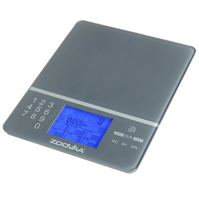 Digital Kitchen Food Scale for Nutrition Facts & Macros - w/ 1,000 Food Codes