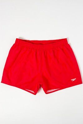 Speedo Boxer Mare Fitted Leisure 13 Rosso #8-10609C352