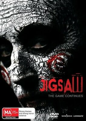 Jigsaw (2017)  - DVD - NEW & SEALED Region 4