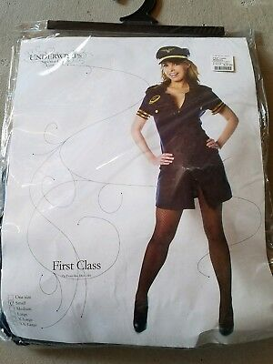 J NEW Adult Underwraps First Class Halloween Costume Size S