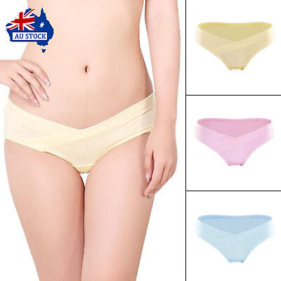 Cotton Pregnancy & Maternity Women Underwear U-Shaped Low Waist Big Size Women