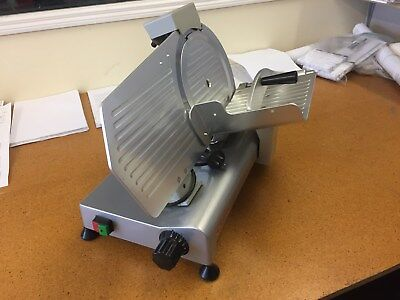 deli meat slicer. very little use. Good condition. 230mm diameter cutting blade
