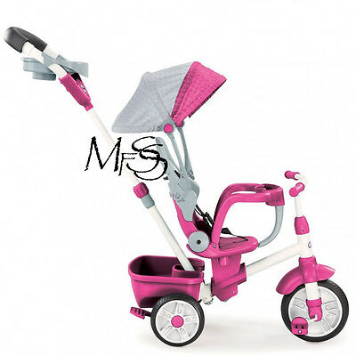 Little Tikes 4 in 1 Perfect Fit Trike in Pink   *   Brand New