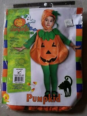 O NEW Child Rubies Pumpkin Kid Halloween Costume Size Newborn