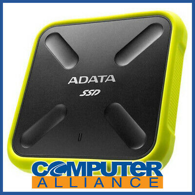 256GB Adata SD700 Yellow USB3.1 External SSD PN SD700-256GU3-CYL