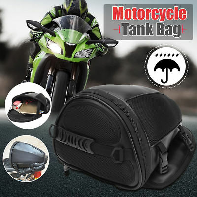 Motorcycle Rear Back Seat Sports Waterproof Tail Tank Bag Luggage Saddlebag