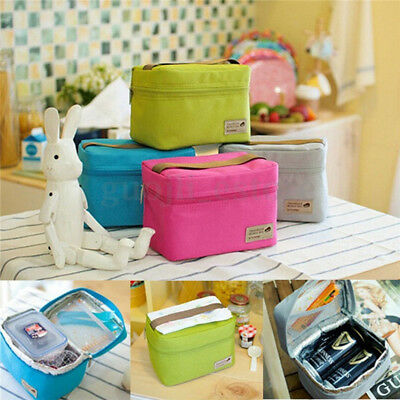 Oxford Thermal Insulated Travel Lunch Bag Cooler Outdoor Picnic Ice Storage Box